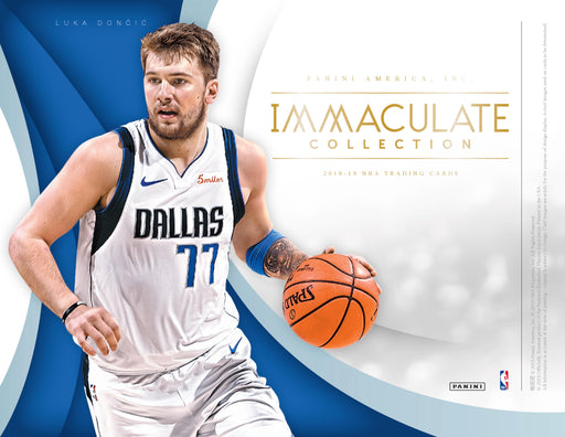 2018-19 Panini Immaculate Basketball Hobby Box (Pre Order Sep 13)-Cherry Collectables