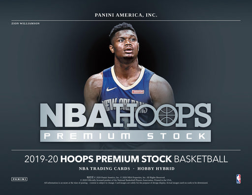 2019-20 Panini Hoops Premium Stock Hybrid Hobby Box (Pre Order Dec 4)-Cherry Collectables