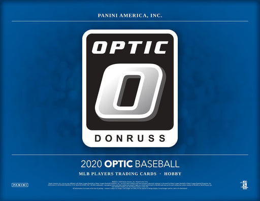 2020 Panini Donruss Optic Baseball Hobby Box (Pre Order Jul 22)-Cherry Collectables