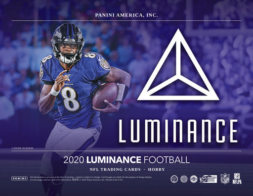 2020 Panini Luminance Football Hobby Box (Pre Order Jul 15)-Cherry Collectables