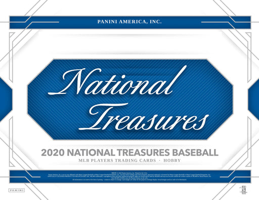 2020 Panini National Treasures Baseball Hobby Box (Pre Order Oct 23)-Cherry Collectables
