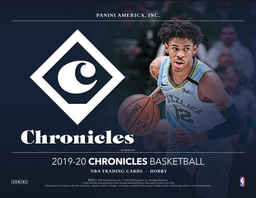 2019-20 Panini Chronicles Basketball Hobby Box (Pre Order Jul 31)-Cherry Collectables