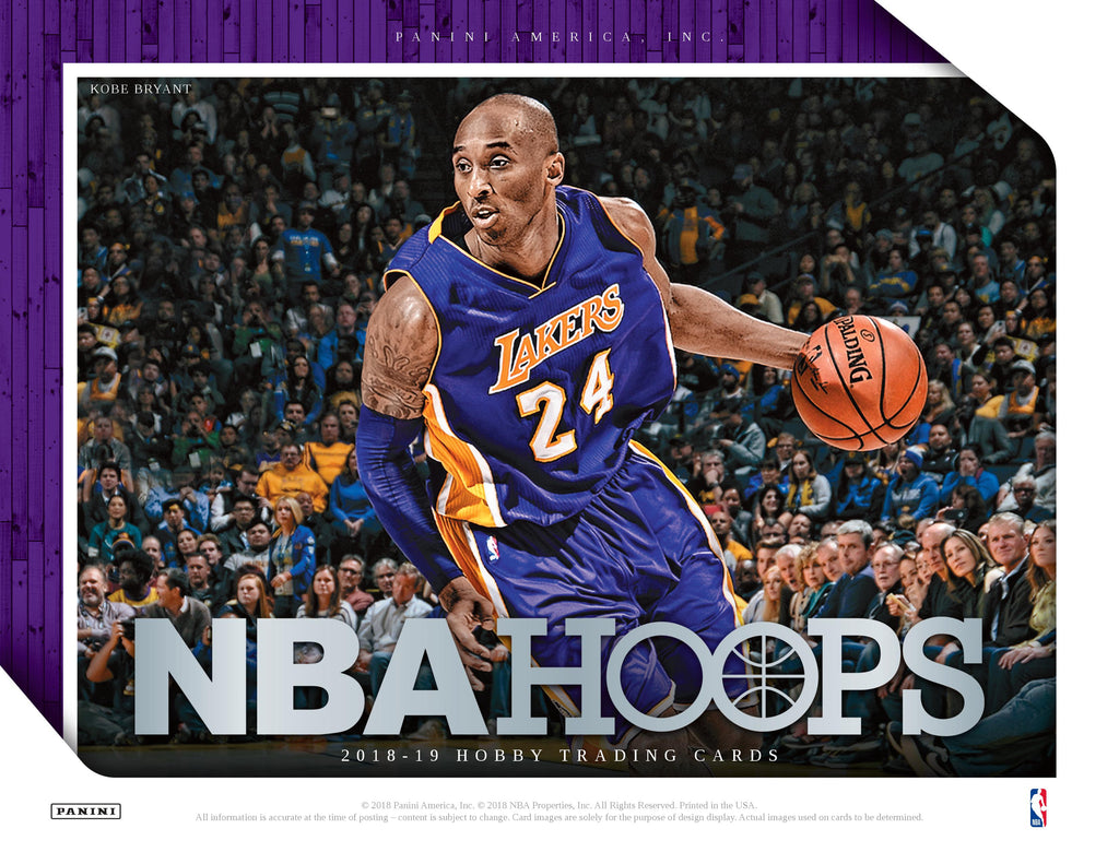 2018-19 NBA Hoops Basketball Hobby Box (Pre Order Oct 24)-Cherry Collectables