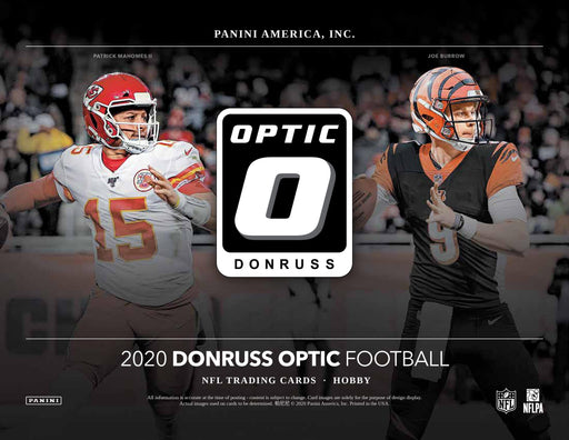 2020 Donruss Optic NFL 5-Box Break #1587 - Random Team - Feb 21 (Night)-Cherry Collectables