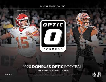 2020 Optic NFL 1-Box Break #1678 (WIN Chargers) - Team Based - Feb 21 (Night)-Cherry Collectables