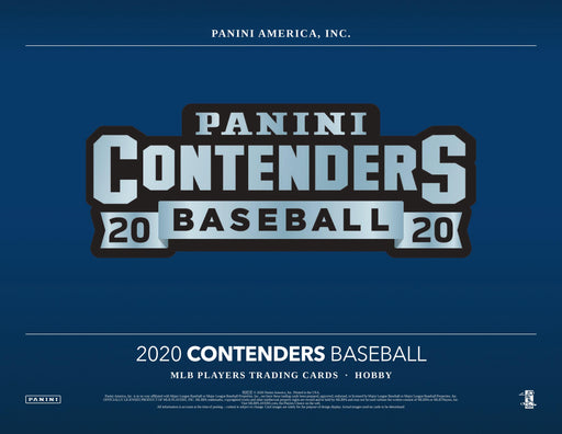 2020 Panini Contenders Baseball Hobby Box (Pre Order Oct 16)-Cherry Collectables