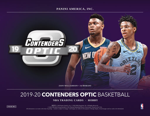 2019-20 Panini Contenders Optic Basketball Hobby Box (Pre Order Aug 26)-Cherry Collectables