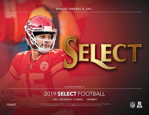 2019 Panini Select Football Hobby Box (Pre Order Feb 12)-Cherry Collectables