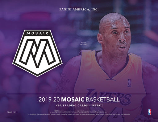 2019-20 Panini Mosaic Basketball Blaster Box (Pre Order May)-Cherry Collectables