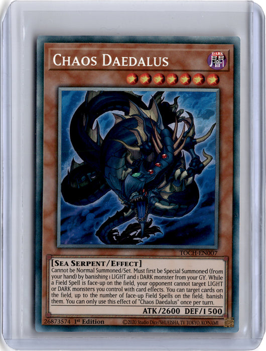 Chaos Daedalus - TOCH-EN007 - Collector Rare 1st Edition (B)-Cherry Collectables