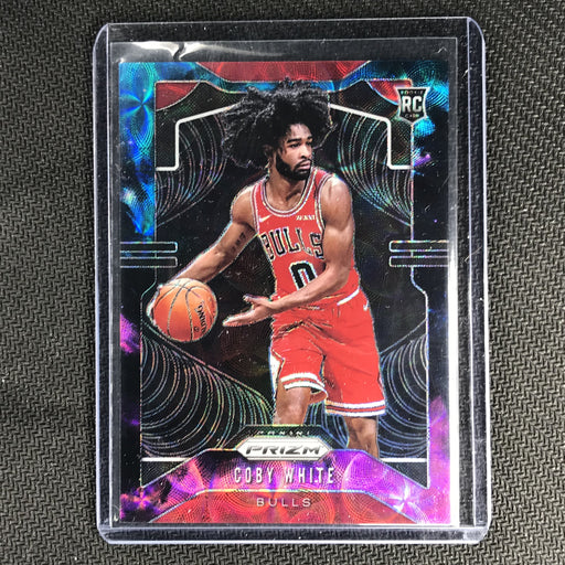 2019-20 Prizm COBY WHITE Nebula Prizm Rookie 1/1 Prizm Choice-Cherry Collectables