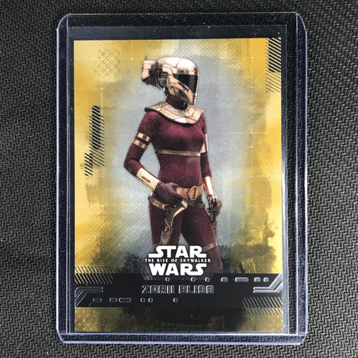 2019 Topps Star Wars Rise Of Skywalker ZORII BLISS Gold 20/25-Cherry Collectables