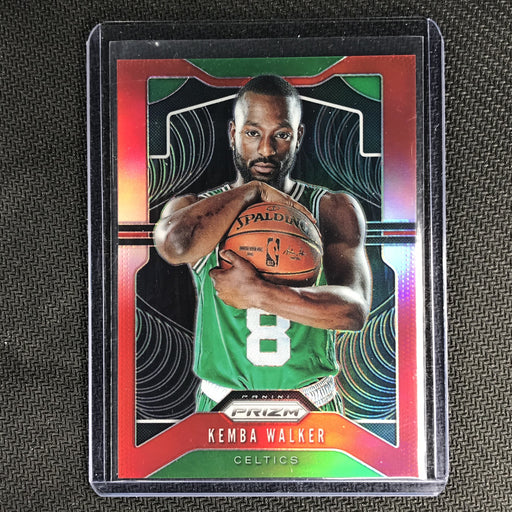 2019-20 Prizm KEMBA WALKER Red Prizm /299-Cherry Collectables