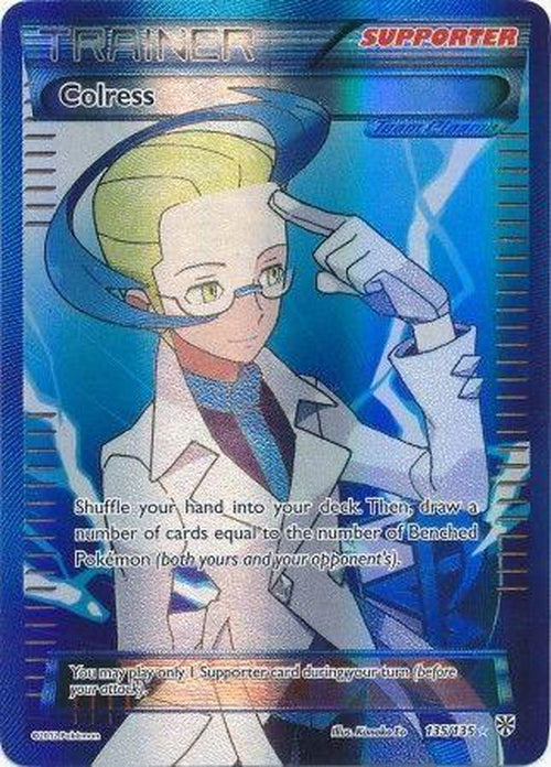 Colress - 135/135 - Full Art Ultra Rare-Cherry Collectables