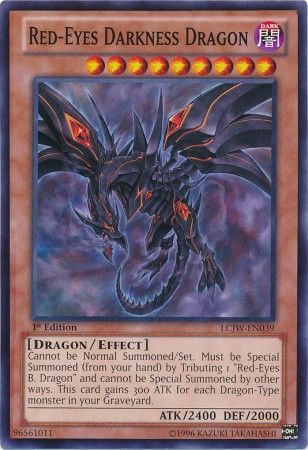 Red-Eyes Darkness Dragon - LCJW-EN039 - Common - 1st Edition-Cherry Collectables