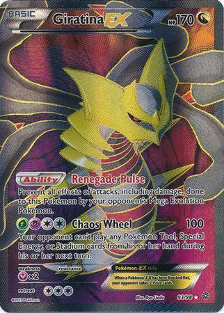 Giratina EX - 93/98 - Full Art Ultra Rare-Cherry Collectables