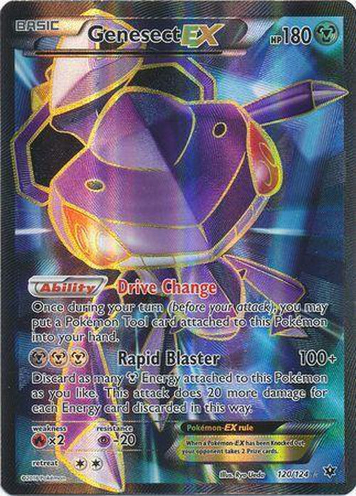 Genesect EX - 120/124 - Full Art Ultra Rare - Fates Collide-Cherry Collectables