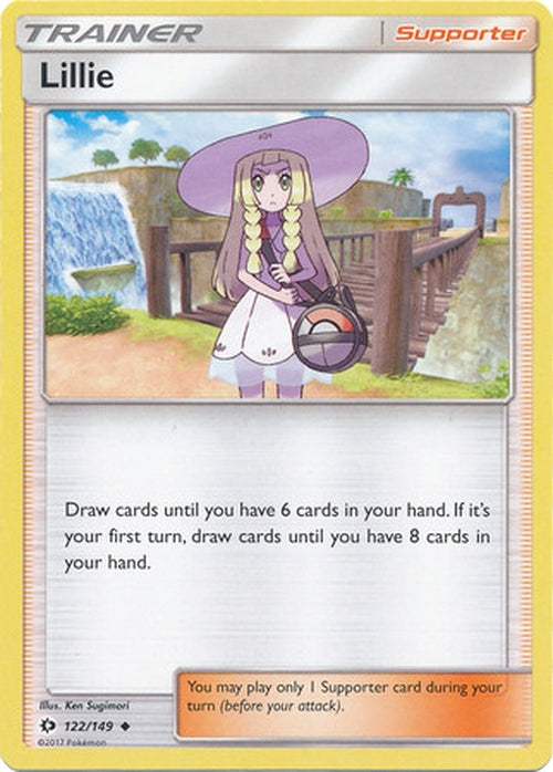 Lillie - 122/149 - Uncommon-Cherry Collectables