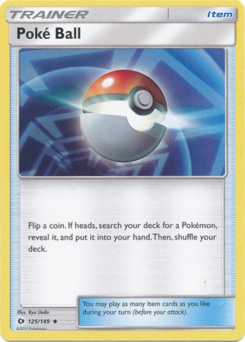 Poke Ball - 125/149 - Uncommon-Cherry Collectables