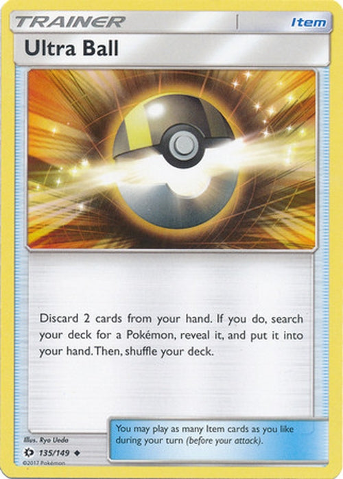 Ultra Ball - 135/149 - Uncommon-Cherry Collectables