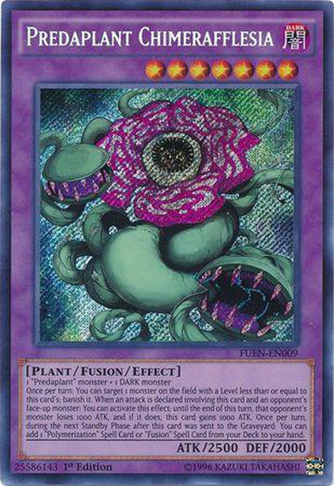 Predaplant Chimerafflesia - FUEN-EN009 - Secret Rare 1st Edition-Cherry Collectables