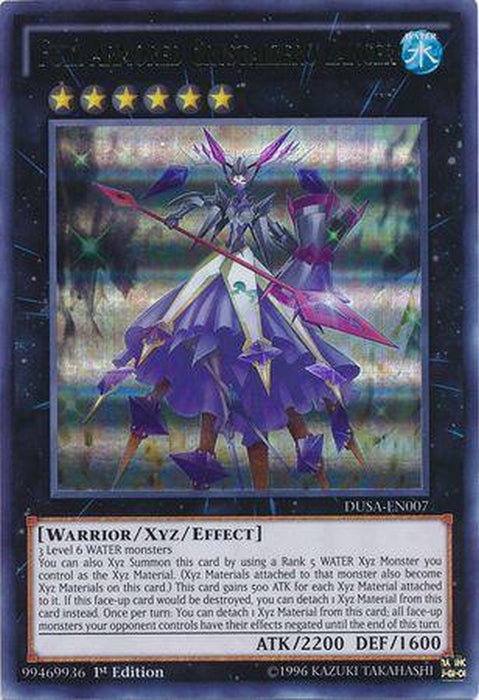 Full Armored Crystalzero Lancer - DUSA-EN007 - Ultra Rare 1st Edition-Cherry Collectables