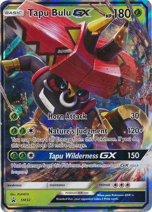 Tapu Bulu GX - SM32 - Promo-Cherry Collectables