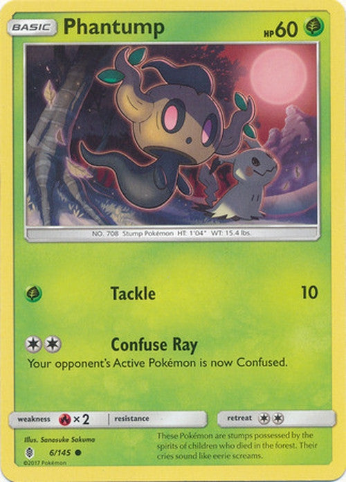 Phantump - 6/145 - Common-Cherry Collectables