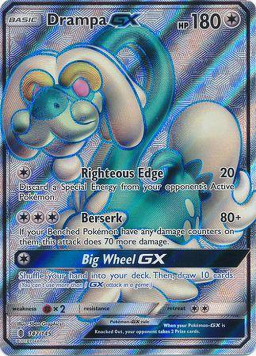 Drampa GX - 142/145 - Full Art Ultra Rare - Guardians Rising-Cherry Collectables