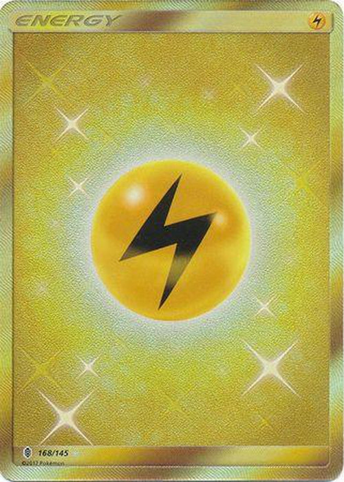 Lightning Energy - 168/145 - Secret Rare-Cherry Collectables