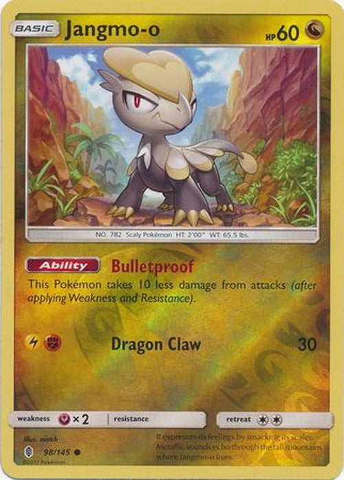Jangmo-o - 98/145 - Common Reverse Holo-Cherry Collectables