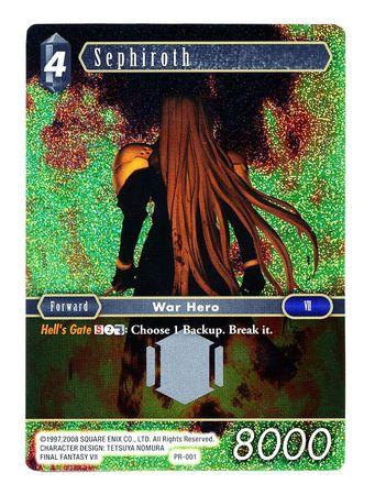 Sephiroth - PR-001 - Foil Promo Final Fantasy-Cherry Collectables