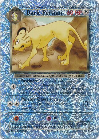 Dark Persian - 6/110 - Rare Reverse Holo - Legendary Collection-Cherry Collectables