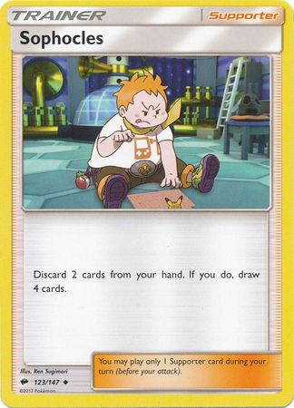 Sophocles - 123/147 - Uncommon-Cherry Collectables