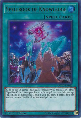Spellbook of Knowledge - COTD-EN062 - Ultra Rare-Cherry Collectables