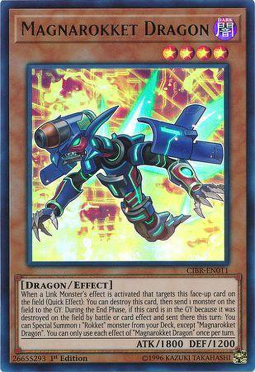 Magnarokket Dragon - CIBR-EN011 - Ultra Rare 1st Edition-Cherry Collectables