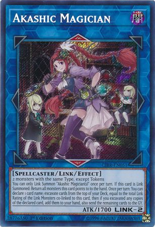 Akashic Magician - CIBR-EN051 - Secret Rare 1st Edition-Cherry Collectables