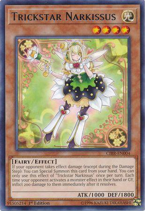 Trickstar Narkissus - CIBR-EN004 - Rare 1st Edition-Cherry Collectables
