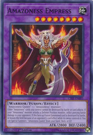 Amazoness Empress - CIBR-EN095 - Common 1st Edition-Cherry Collectables
