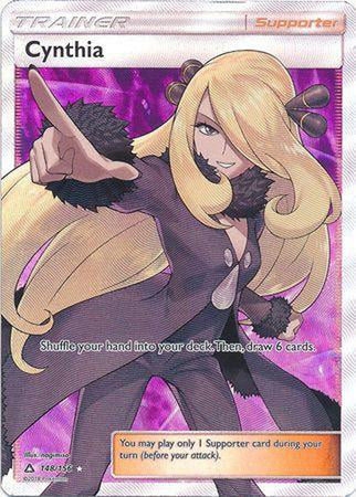 Cynthia - 148/156 - Full Art Ultra Rare-Cherry Collectables