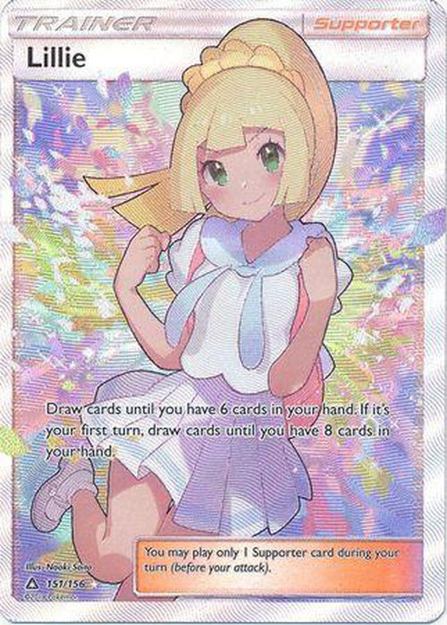 Lillie - 151/156 - Full Art Ultra Rare - Ultra Prism-Cherry Collectables