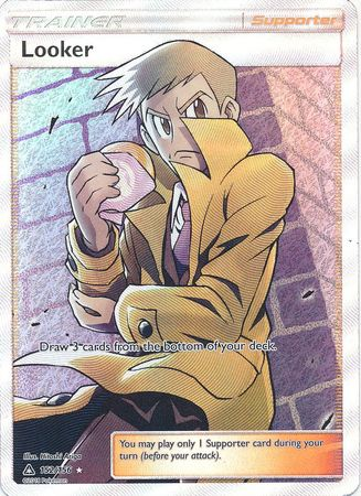Looker - 152/156 - Full Art Ultra Rare - Ultra Prism-Cherry Collectables
