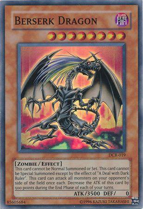 Berserk Dragon - DCR-019 - Super Rare Unlimited-Cherry Collectables