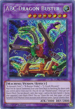 ABC-Dragon Buster - LCKC-EN059 - Secret Rare 1st Edition-Cherry Collectables