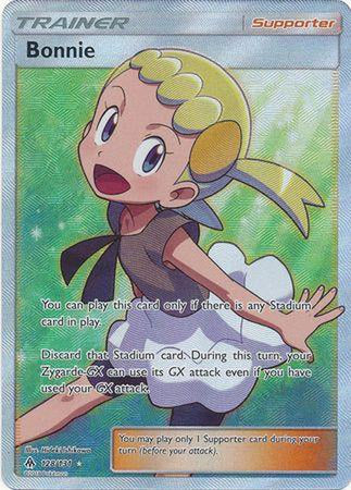 Bonnie - 128/131 - Full Art Ultra Rare - Cherry Collectables