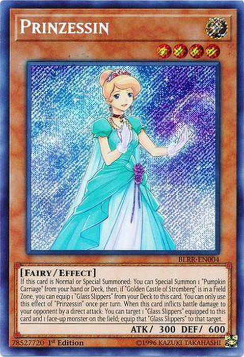 Prinzessin - BLRR-EN004 - Secret Rare 1st Edition-Cherry Collectables