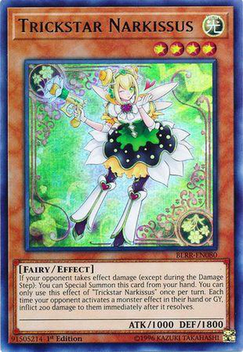 Trickstar Narkissus - BLRR-EN080 - Ultra Rare 1st Edition-Cherry Collectables