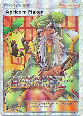 Apricorn Maker - 161/168 - Full Art Ultra Rare-Cherry Collectables