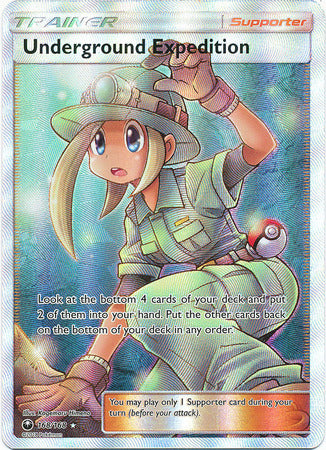 Underground Expedition - 168/168 - Full Art Ultra Rare-Cherry Collectables