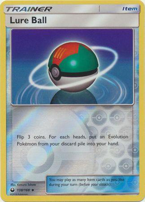 Lure Ball - 138/168 - Uncommon Reverse Holo-Cherry Collectables